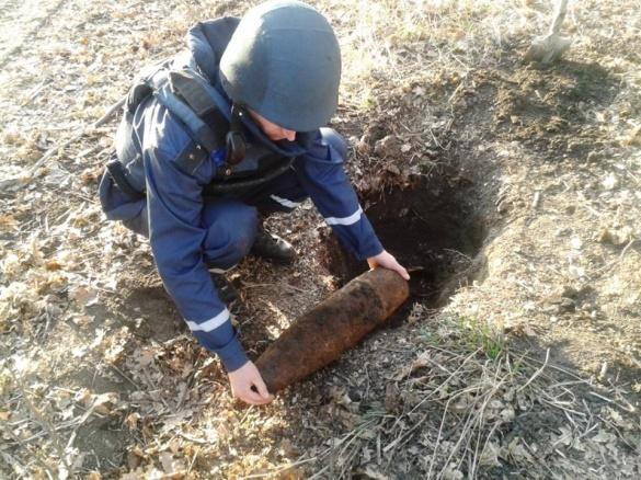 Черкащани за день знайшли кілька артснарядів, міну та гранату