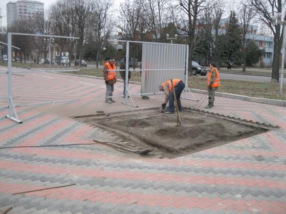 У Черкасах почали будувати пам'ятний знак Борцям за волю України