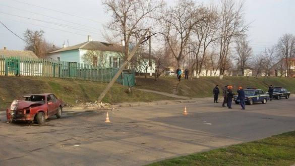 В Черкаській області місто залишилося без світла через ДТП
