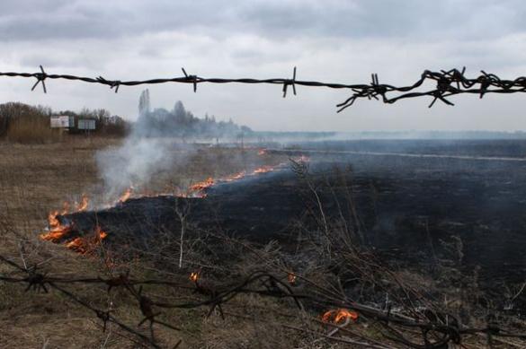 На черкаському аеропорту сталася пожежа? (ФОТО)