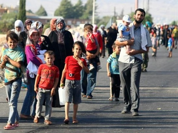 Черкаський журналіст привіз поселяти сирійських біженців у Київську область (ВІДЕО)