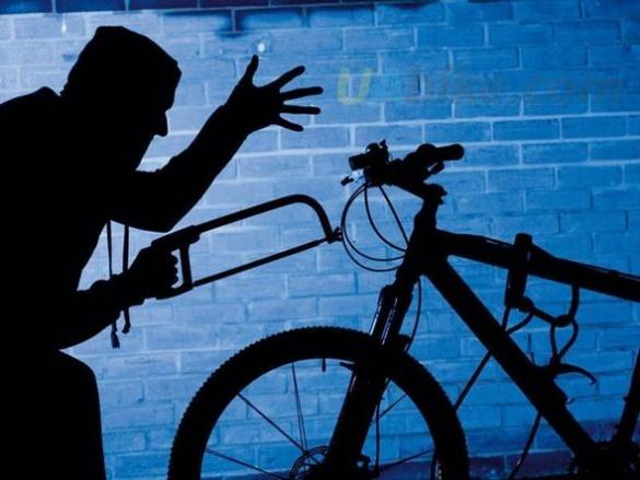 На Черкащині правоохоронці затримали жінку, яка намагалася перефарбувати вкрадений велосипед