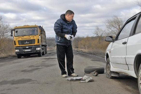 Яйця допомогли визначити найгіршу дорогу Черкащини (ВІДЕО)