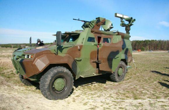 Під Черкасами проведено випробування нової бронемашини для захисту кордону з РФ