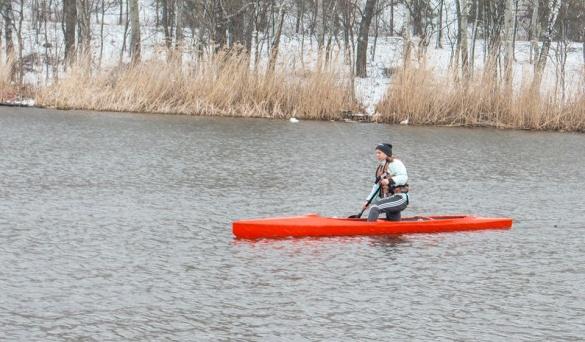 Черкаські веслувальники відкривали сезон у складних умовах (ФОТО)