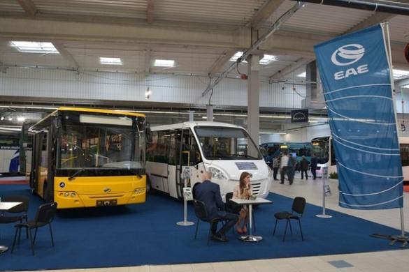 Черкаські автобуси презентували за кордоном (ФОТО)