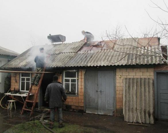 Рятувальники загасили пожежу на Черкащині (ВІДЕО)