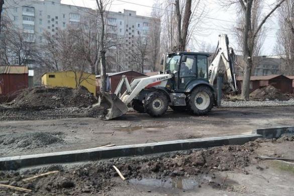 Жителі однієї з черкаських вулиць нарешті дочекалися ремонтних робіт