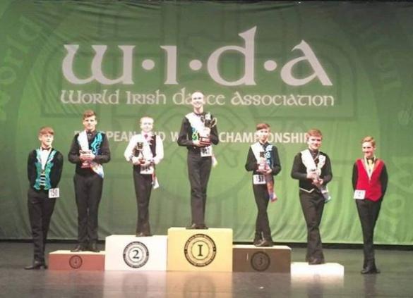 Черкащанин здобув бронзу на чемпіонаті світу з ірландських танців