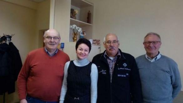 На Черкащині німецькі благодійники роздавали продуктові набори для дітей-інвалідів