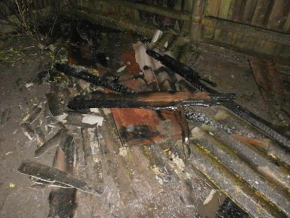 Через блискавку загорілася надвірна споруда в Черкаській області