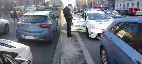 Черкаські патрульні спіймали на порушенні громадського діяча