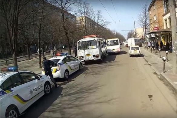 У ДТП за участі двох маршруток постраждало шестеро черкащан