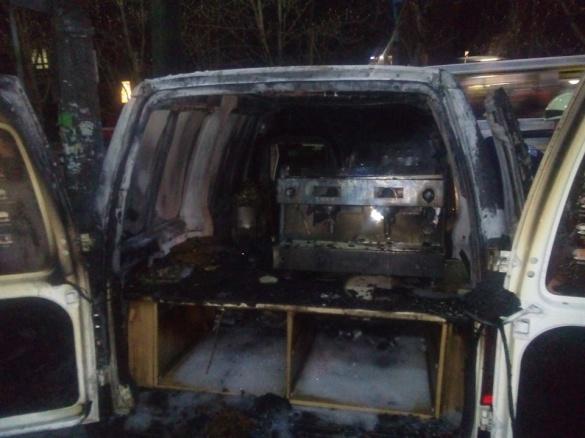 У мережі з'явилося відео пожежі у центрі Черкас