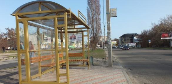 На Митниці у Черкасах встановили нові зупинки