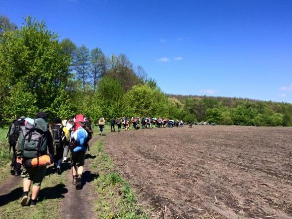 У Черкаській області для дітей та молоді організовують похід