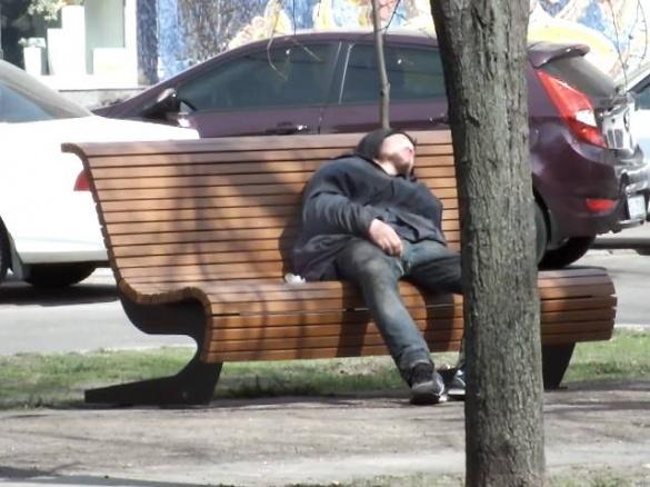 Безхатько знайшов нестандартне місце для відпочинку