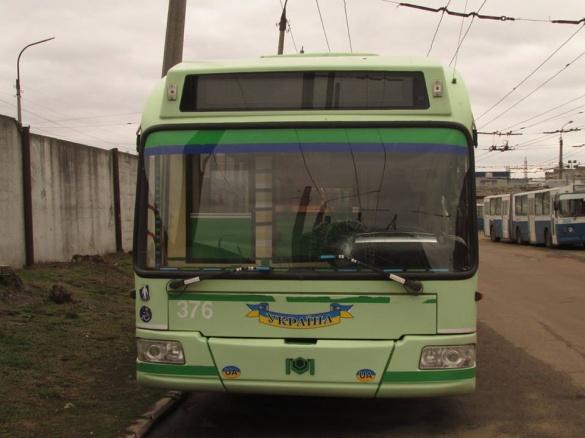 Тролейбус від