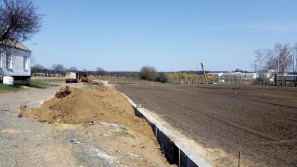 На Черкащині будують стадіон, що відповідатиме стандартам УЄФА