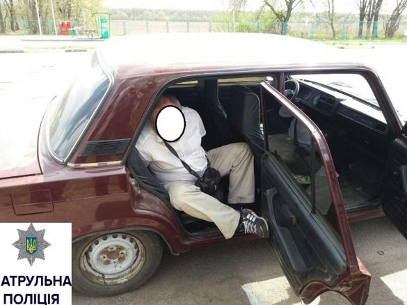 Переслідування на швидкості: у Черкасах затримали п'яного водія (ФОТО)