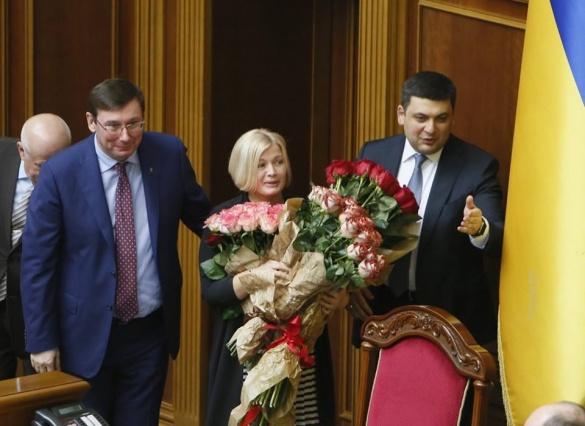 Черкащанку обрали першим віце-спікером Верховної Ради