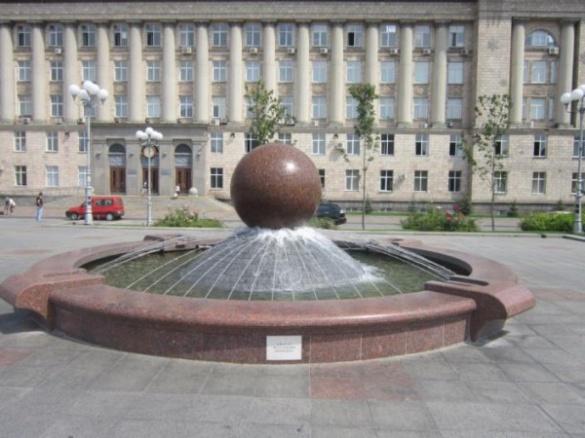 У центрі Черкас невдовзі запрацюють фонтани