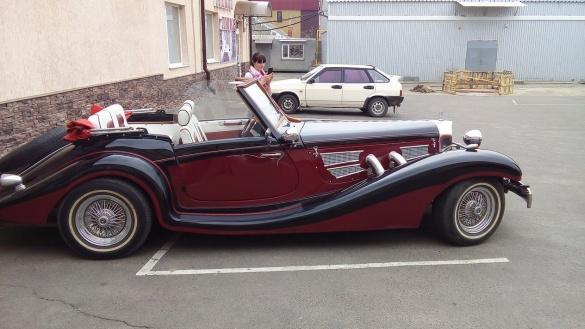 Уманчан вразив раритетний Mercedes довоєнних часів