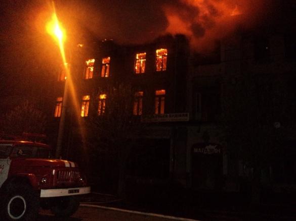 На Черкащині сталася масштабна пожежа (ФОТО)