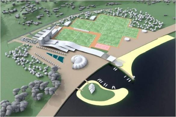 Депутати відклали розгляд питання щодо будівництва спорткомплексу на березі Дніпра