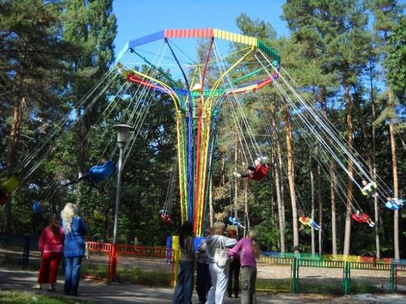 У черкаських парках протестували актракціони