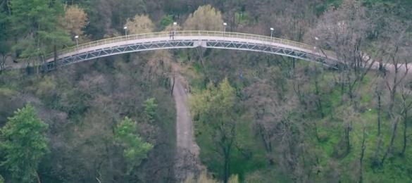 У мережі показали черкаський парк з незвичного ракурсу (ВІДЕО)