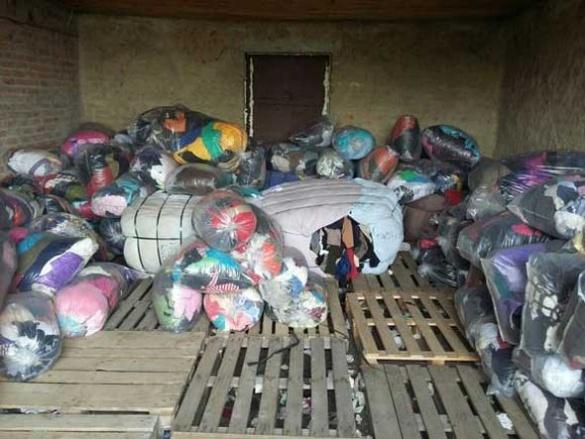 У Черкасах благодійна організація викрала 14 тонн гуманітарної допомоги
