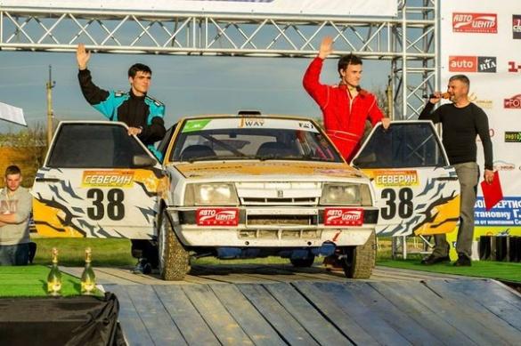 Черкаський гонщик спробував власні сили у міні-ралі