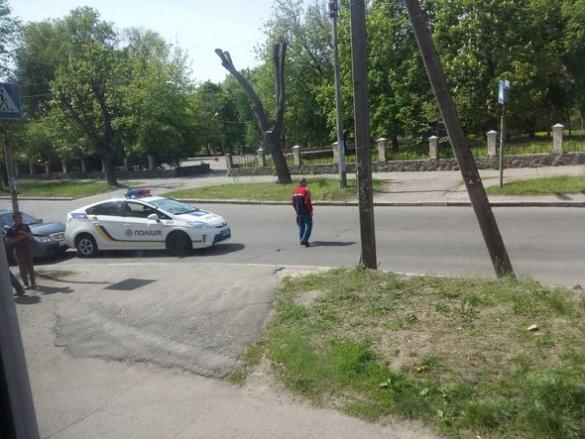Черкащани в мережі обговорюють ДТП за участі поліцейської автівки