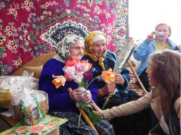 Довгожителька з Черкащини відсвяткувала 100-річчя