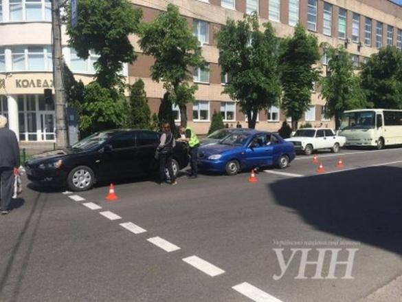 ДТП у Черкасах: зіткнулися два легковики (ФОТО)