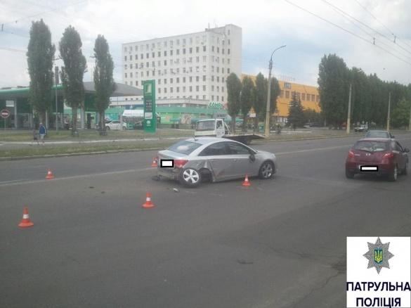 ДТП у Черкасах: жінка втратила свідомість за кермом (ФОТО)