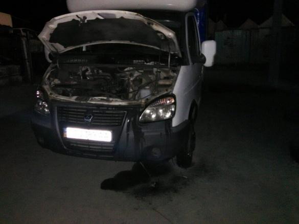 Вночі у Черкасах несподівано спалахнула машина