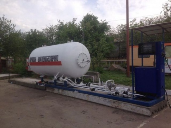 Газова заправка у Черкасах діяла незаконно