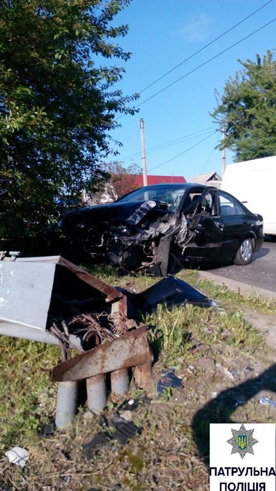 Поліція повідомила подробиці ранкової ДТП у Черкасах