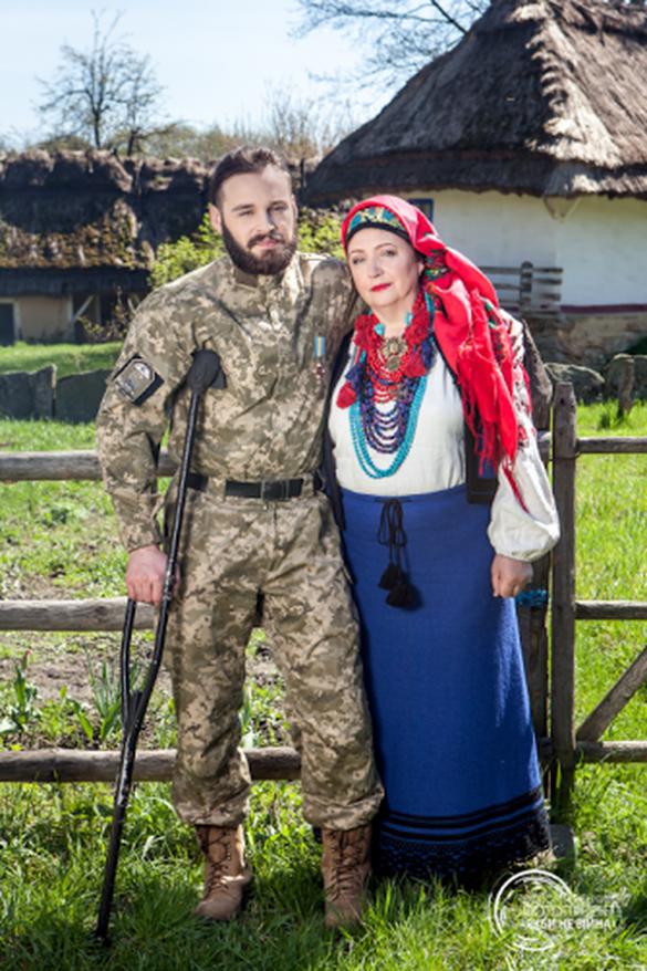 Черкаський боєць взяв участь в унікальному проекті