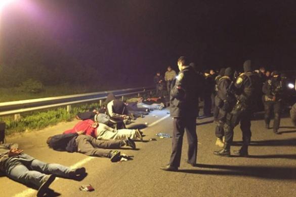 Під Уманню поліцейські спіймали озброєну банду