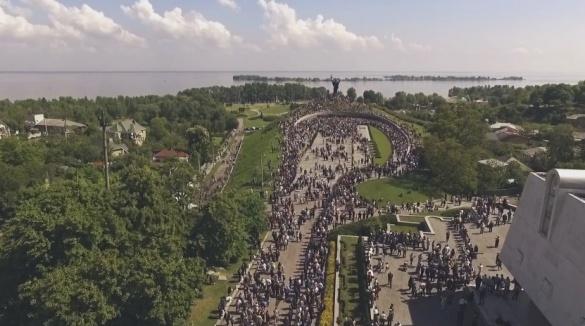 Захоплююча висота: як черкащани відзначали День перемоги (ВІДЕО)