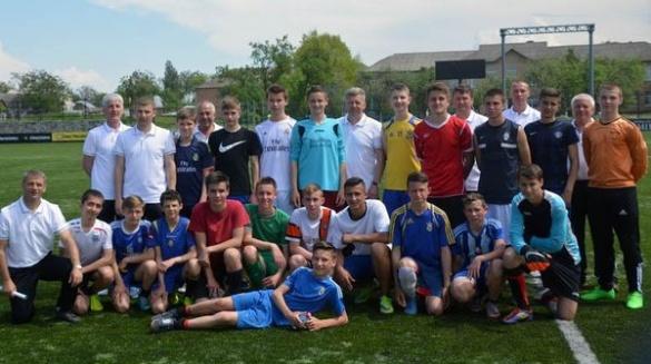 Потенційні Роналду й Шевченки: у Білозір'ї стартував відбір на навчання у футбольній Академії
