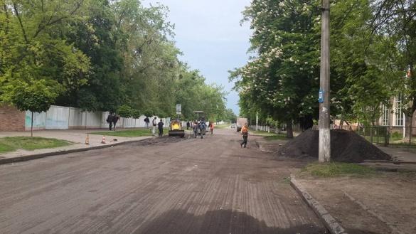 Стало відомо, які дороги наразі ремонтують у Черкасах
