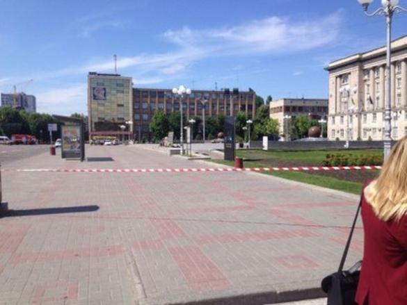 У поліції розповіли, що відбувається на Соборній площі у Черкасах
