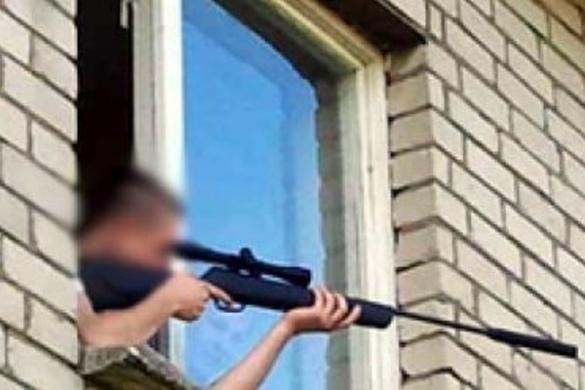У Черкасах з'явився снайпер, який вже підстрелив 12-річного хлопчика