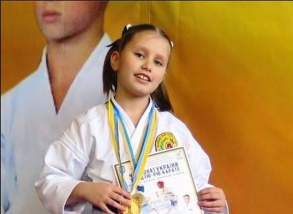 9-річна черкащанка здобула перемогу на Кубку світу з карате