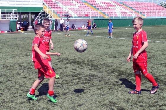 Вже на першому етапі відбору до футбольної Академії прийшло майже дві сотні юних дарувань