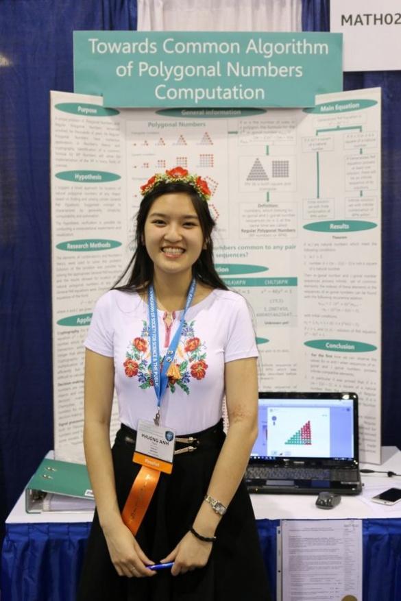 Черкаська школярка вразила своїм відкриттям на міжнародній олімпіаді геніїв